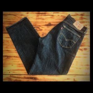 BNWOT Levi's 501 Black jeans size 36x32